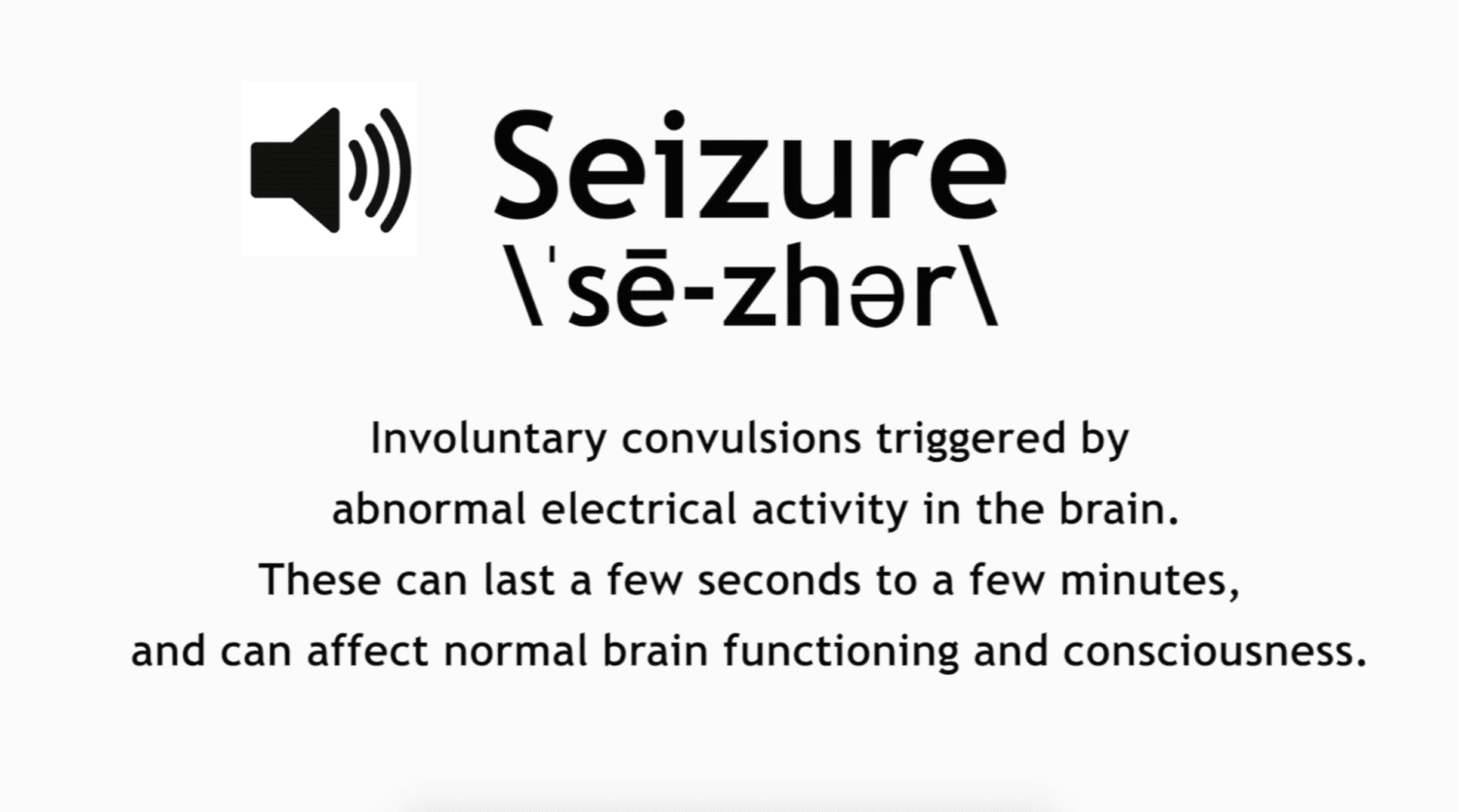 How to Pronounce Seizure | Video