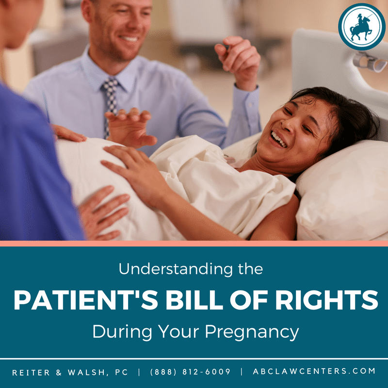 How to read a Patient's Bill of Rights - Pregnancy and Childbirth