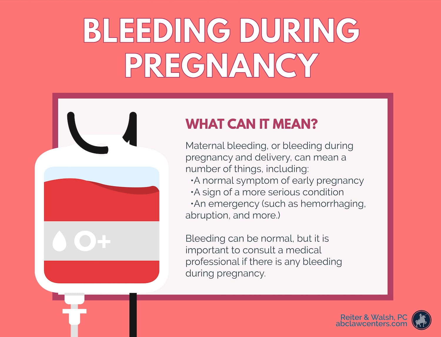 Bleeding During Pregnancy and Delivery | ABC Law Centers